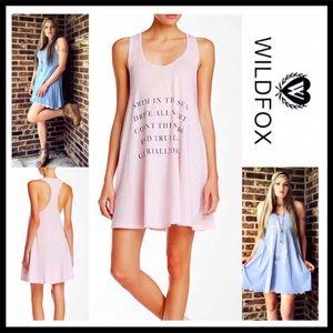 ⭐️⭐️ WILDFOX COVERUP MINI TANK COVERUP DRESS